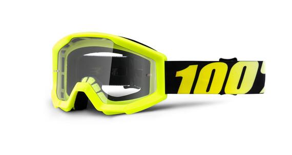 100% Strata Youth Goggles Børn gul